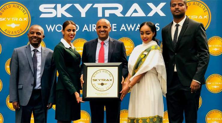 Ethiopian Airlines Group was voted best airline in Africa
