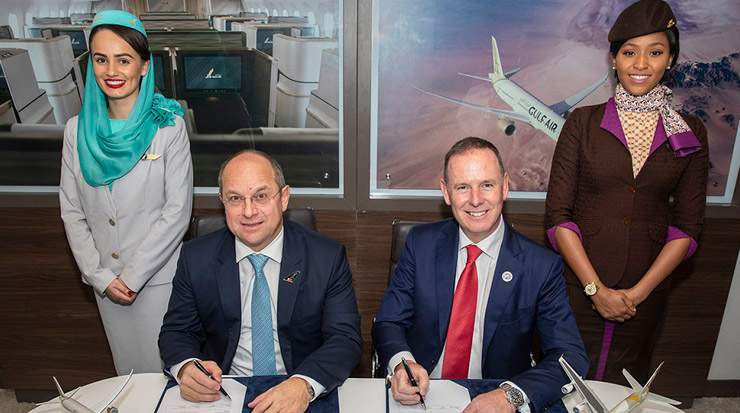 Gulf Air and Etihad Airways sign MoU