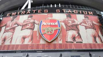 Emirates Stadium is currently England's third-largest football stadium
