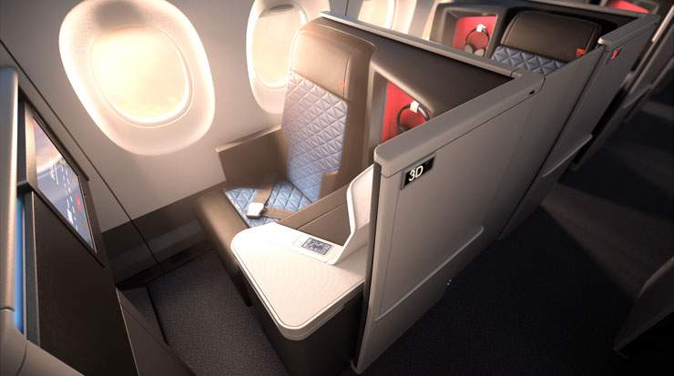 Recent upgrades to the Delta One in-flight experience include new chef-designed Delta One menus