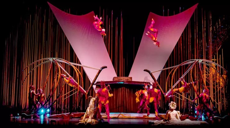 The Russian Swing act from Varekai