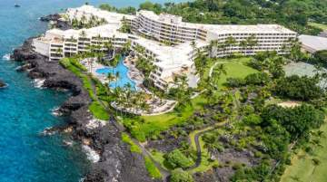 On track to become the new Outrigger Kona Resort and Spa