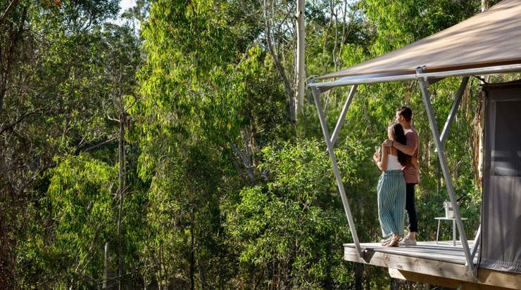 Sirromet Opens Queensland's First Winery Glamping Experience