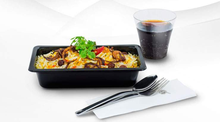 The economy class menu boost follows changes to the premium customer menu