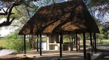 Bush Camp by Camp Kwando is situated on the banks of Kwando River