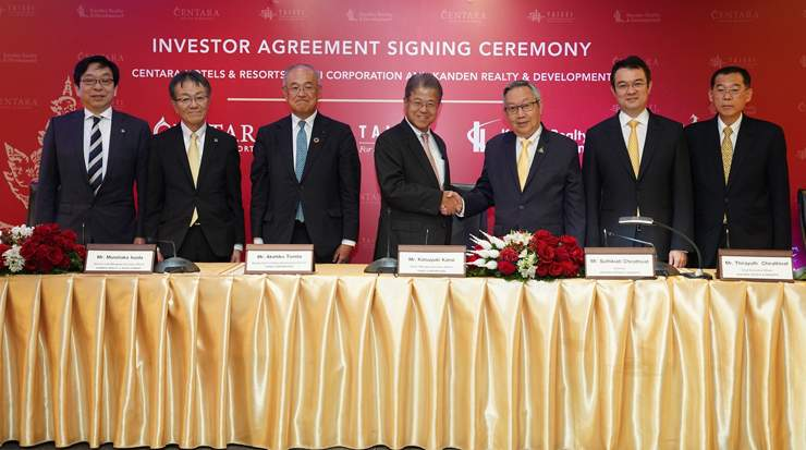 Centara Hotels & Resorts agreement with Taisei Corporation and Kanden Realty & Development