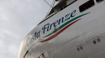 Costa Cruises Celebrated Float Out of Costa Firenze