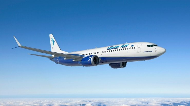 Blue Air and Boeing Unveil Aircraft Order