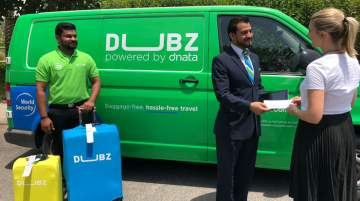 Passengers on any airline can also use DUBZ services when arriving at Terminals 1 and 2 at Dubai Airport and Al-Maktoum Airport